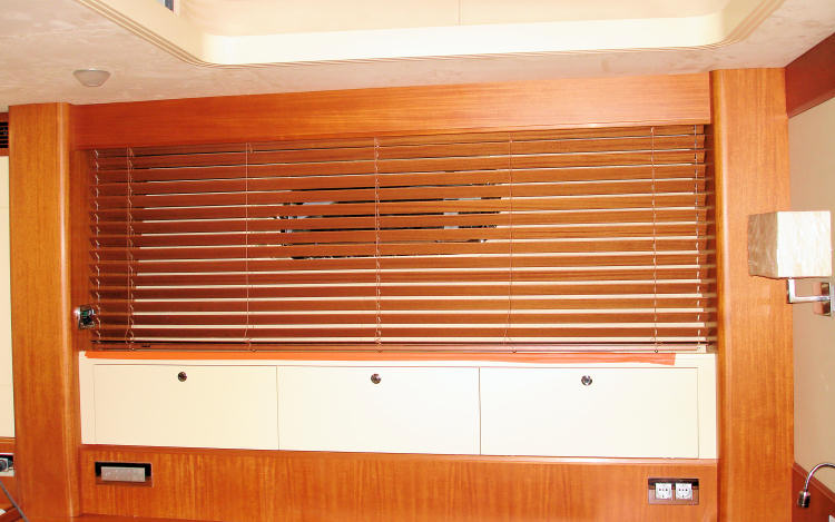 Bespoke blinds for boats